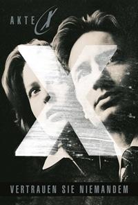 Buch Cover - Akte X: Vertrauen Sie niemanden, Rechte bei cross cult