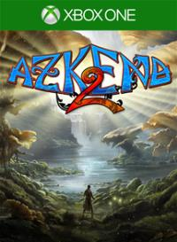 Xbox One Cover - Azkend 2: The World Beneath, Rechte bei 10tons Ltd.