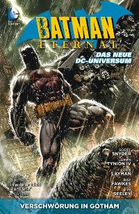 Comic Cover - Batman Eternal #1: Verschwörung in Gotham, Rechte bei Panini Comics