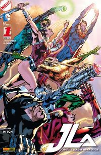 Comic Cover - Justice League of America #1 + #2, Rechte bei Panini Comics