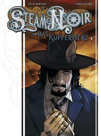 Comic Cover - Steam Noir: Das Kupferherz #4, Rechte bei cross cult
