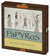 Brettspielschachtel - PaPYRoS - Die Seele der Wörter, Rechte bei moses. Verlag