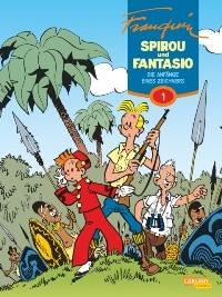 Comic Band - Spirou & Fantasio Gesamtausgabe, Band 1: Die Anfänge eines Zeichners, Rechte bei Carlsen Comics