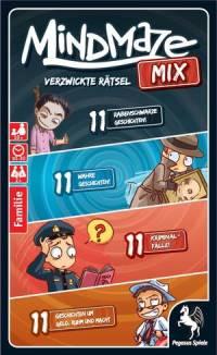 Kartenspielschachtel - MindMazeMix - Verzwickte Rätsel, Rechte bei Pegasus Spiele