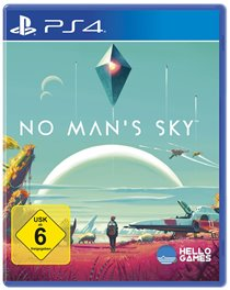 PS4 Cover - No Man's Sky, Rechte bei Sony Computer Entertainment