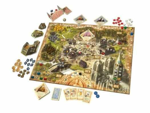 Brettspiel - Die Tore der Welt, Rechte bei Kosmos Verlag