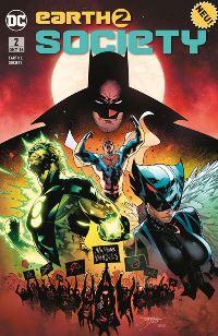 Comic Cover - Earth 2: Society #2: Verschwörung, Rechte bei Panini Comics