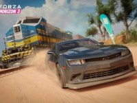 Train Crossing in Forza Horizon 3 in Forza Horizon 3, Forza Horizon 3, Rechte bei Microsoft Studios