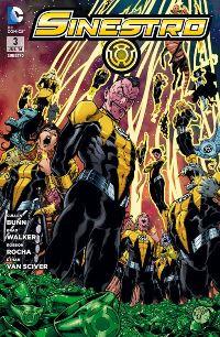 Comic Cover - Sinestro #3: Verrat im Sinestro Corps, Rechte bei Panini Comics
