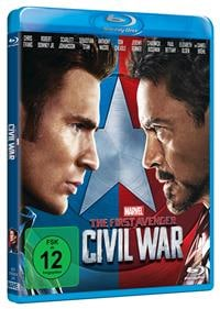 Blu-ray Cover - The First Avenger: Civil War, Rechte bei Disney