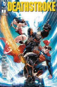 Comic Cover - Deathstroke #2: Götterschlächter, Rechte bei Panini Comics