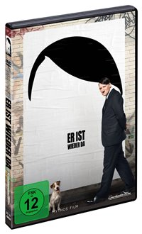 DVD Cover - Er ist wieder da, Rechte bei Constantin Film