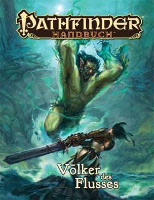 Cover - Pathfinder Handbuch: Völker des Flusses, Rechte bei Ulisses Spiele