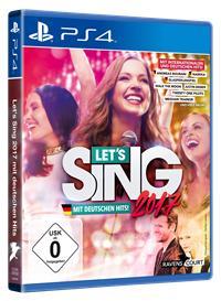 PS4 Cover - Let's Sing 2017 Inkl. Deutschen Hits, Rechte bei Ravenscourt