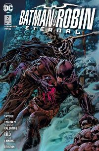 Comic Cover - Batman & Robin Eternal #2: Engel des Todes, Rechte bei Panini Comics