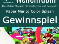 Gewinnspiel Paper Mario: Color Splash