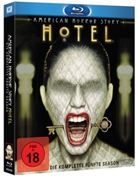 Blu-ray Cover - American Horror Story: Hotel, Rechte bei Twentieth Century Fox Home Entertainment