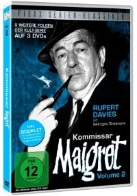 DVD Cover - Kommissar Maigret - Vol. 2, Rechte bei Pidax Film