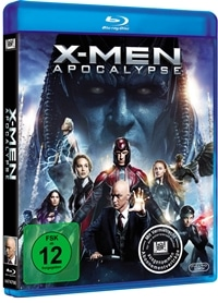 Blu-ray Cover - X-Men: Apocalypse, Rechte bei Twentieth Century Fox Home Entertainment