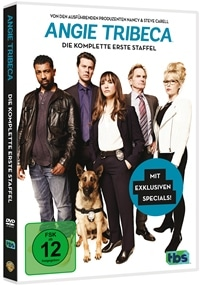 DVD Cover - Angie Tribeca - 1. Staffel, Rechte bei Warner Bros.