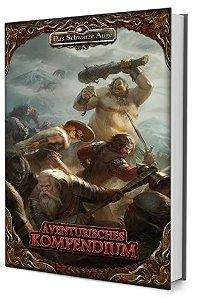 Cover der Hardcover Ausgabe - Aventurisches Kompendium, Rechte bei Ulisses Spiele
