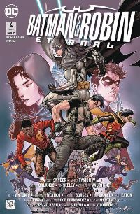 Comic Cover - Batman & Robin Eternal #4: Die Batman-Armee, Rechte bei Panini Comics