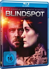 BD Cover - Blindspot - Die komplette 1. Staffel, Rechte bei Warner Home Video