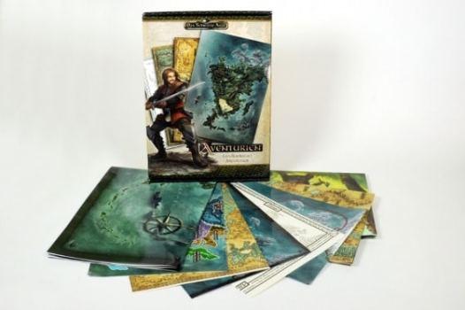 Landkartenset Aventurien, Rechte bei Ulisses Spiele