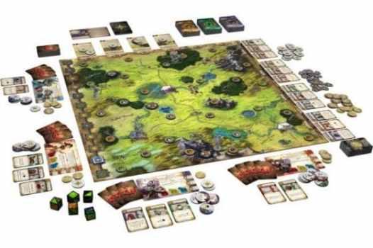 Brettspielinhalt - Runebound, 3. Editon, Rechte bei Heidelberger Spieleverlag