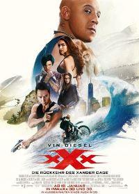 Filmplakat - xXx: Die Rückkehr des Xander Cage, Rechte bei Paramount Pictures Germany GmbH