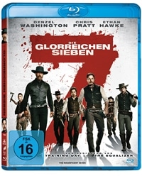 Blu-ray Cover - Die glorreichen Sieben, Rechte bei Sony Pictures Home Entertainment