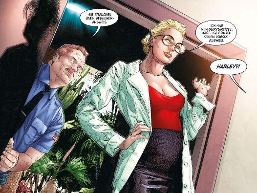 Harley Quinn - Poison Ivy: Kreislauf von Leben und Tod, Rechte bei Panini Comics