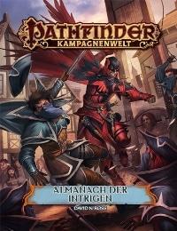 Cover - Pathfinder Almanach der Intrigen, Rechte bei Ulisses Spiele