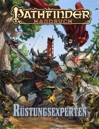 Cover - Pathfinder: Handbuch der Rüstungsexperten, Rechte bei Ulisses Spiele