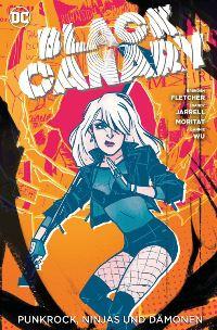 Comic Cover - Black Canary #2: Punkrock, Ninjas und Dämonen, Rechte bei Panini Comics
