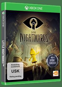 Xbox One Cover - Little Nightmares, Rechte bei Bandai Namco