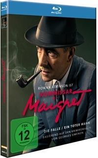 Blu-ray Cover - Kommissar Maigret: Die Falle / Ein toter Mann, Rechte bei Polyband
