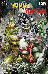 Batman/Teenage Mutant Ninja Turtles - Cover