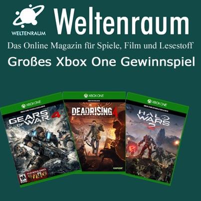 Gewinnspiel Xbox One Games
