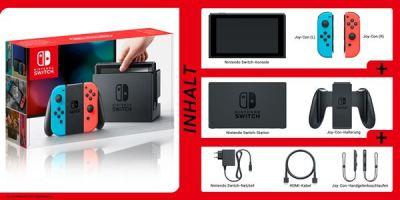 Nintendo Switch, Rechte bei Nintendo