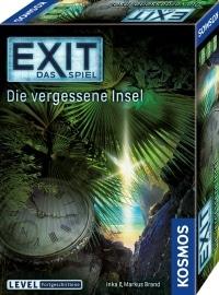 Exit - Die vergessene Insel - Cover