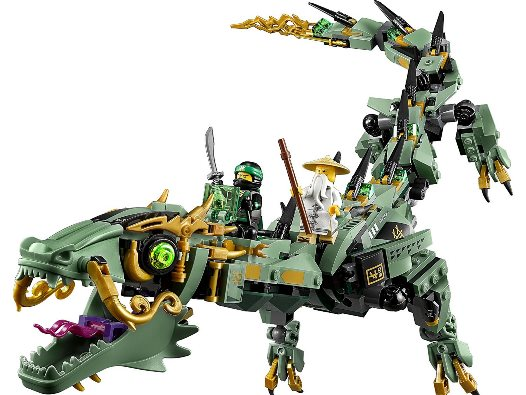Lego Ninjago: Mech-Drache des Grünen Ninja