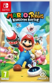 Mario And Rabbids Kingdom Battle Cover