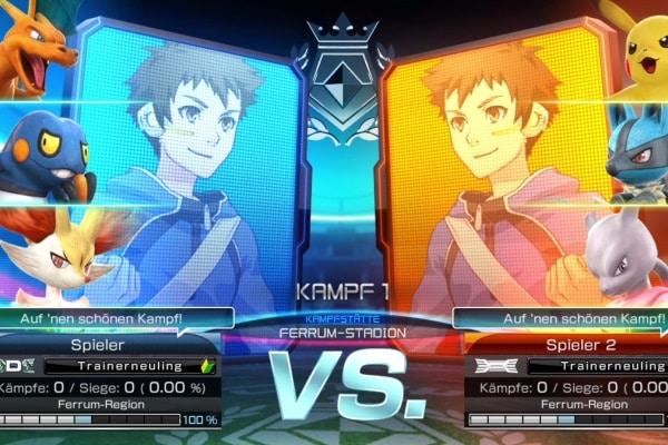 Pokemon Tekken DX – Teamkampf