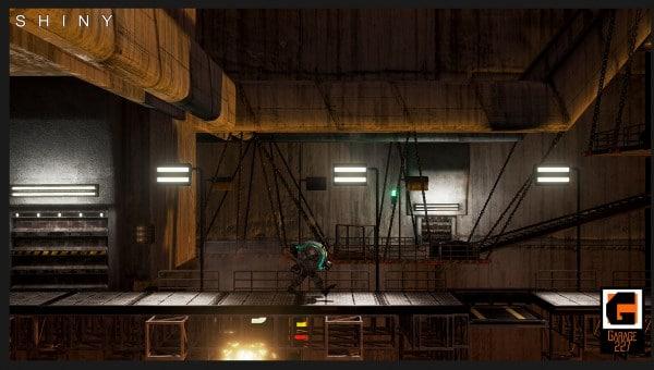 Shiny – In der Fabrik