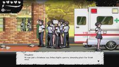 The Coma Recut - Krankenwagen vor der Schule