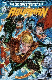 Aquaman #3: Die Flut, Rechte bei Panini Comics