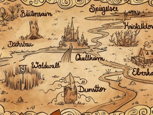 Die Siebenwindkuste Landkarten