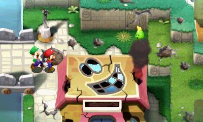 Mario und Luigi Superstar Saga Bild 2