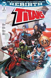 Titans #2: Made in Manhattan, Rechte bei Panini Comics